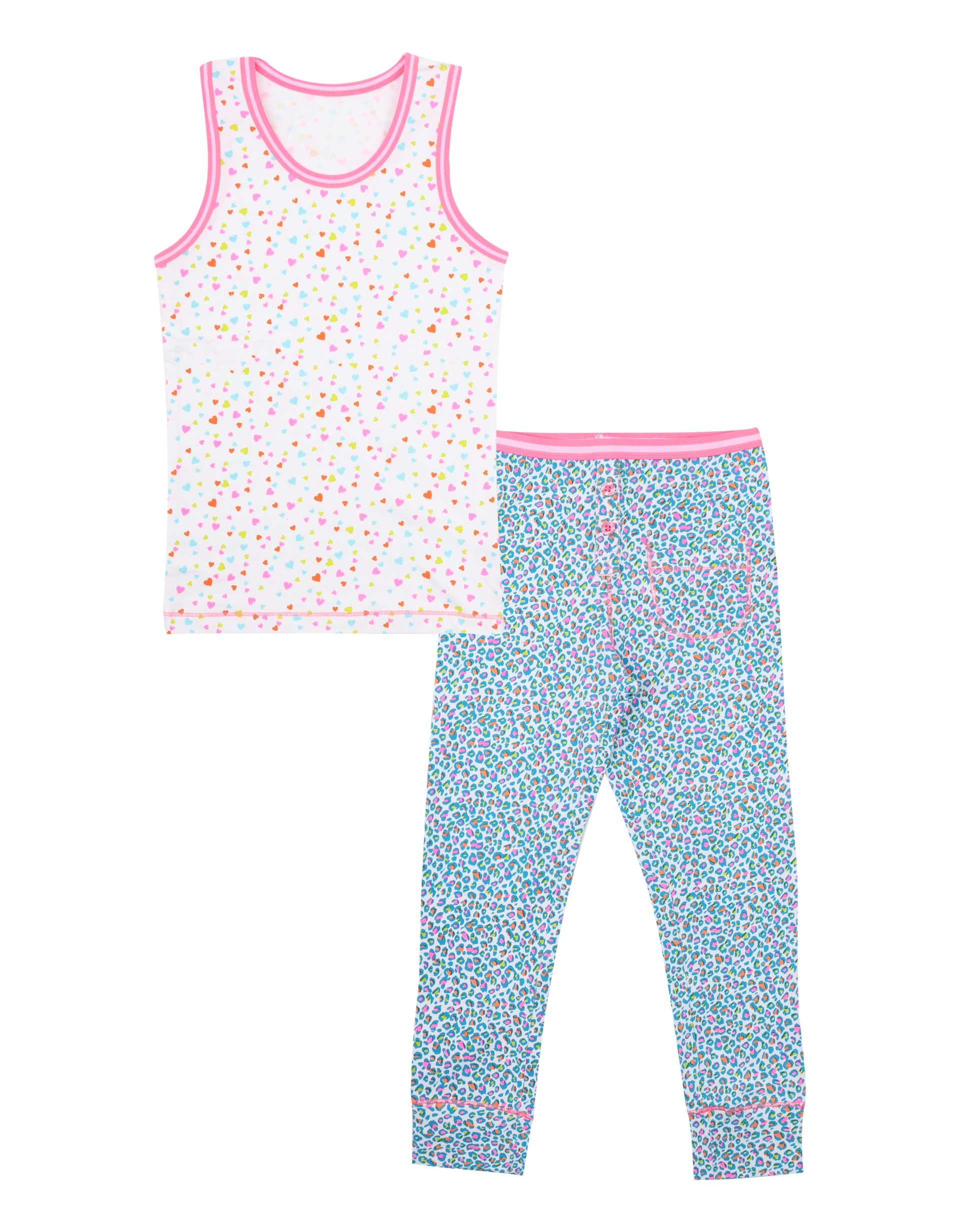 Pyjamaset Panther Hearts