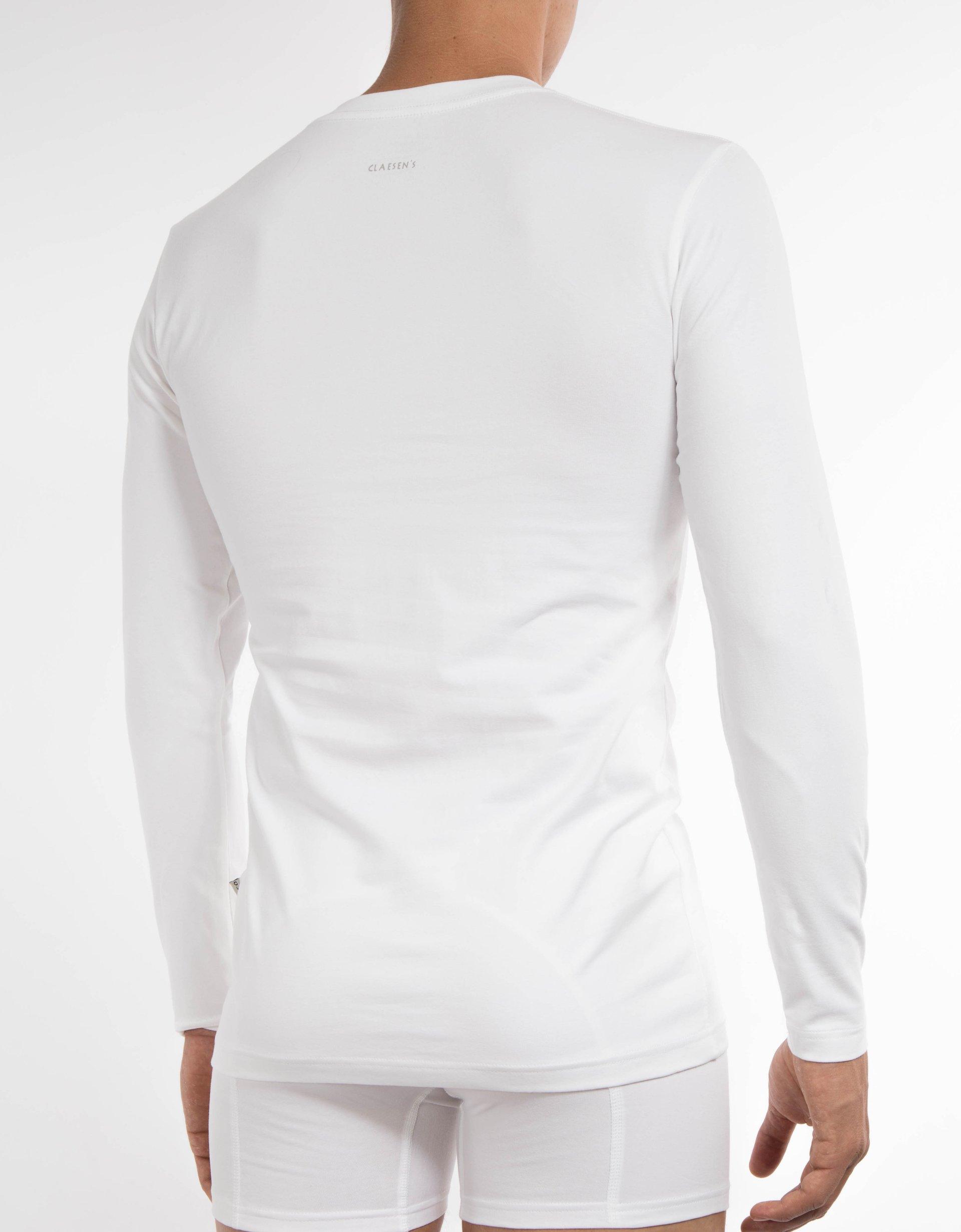 V-neck T-shirt LS