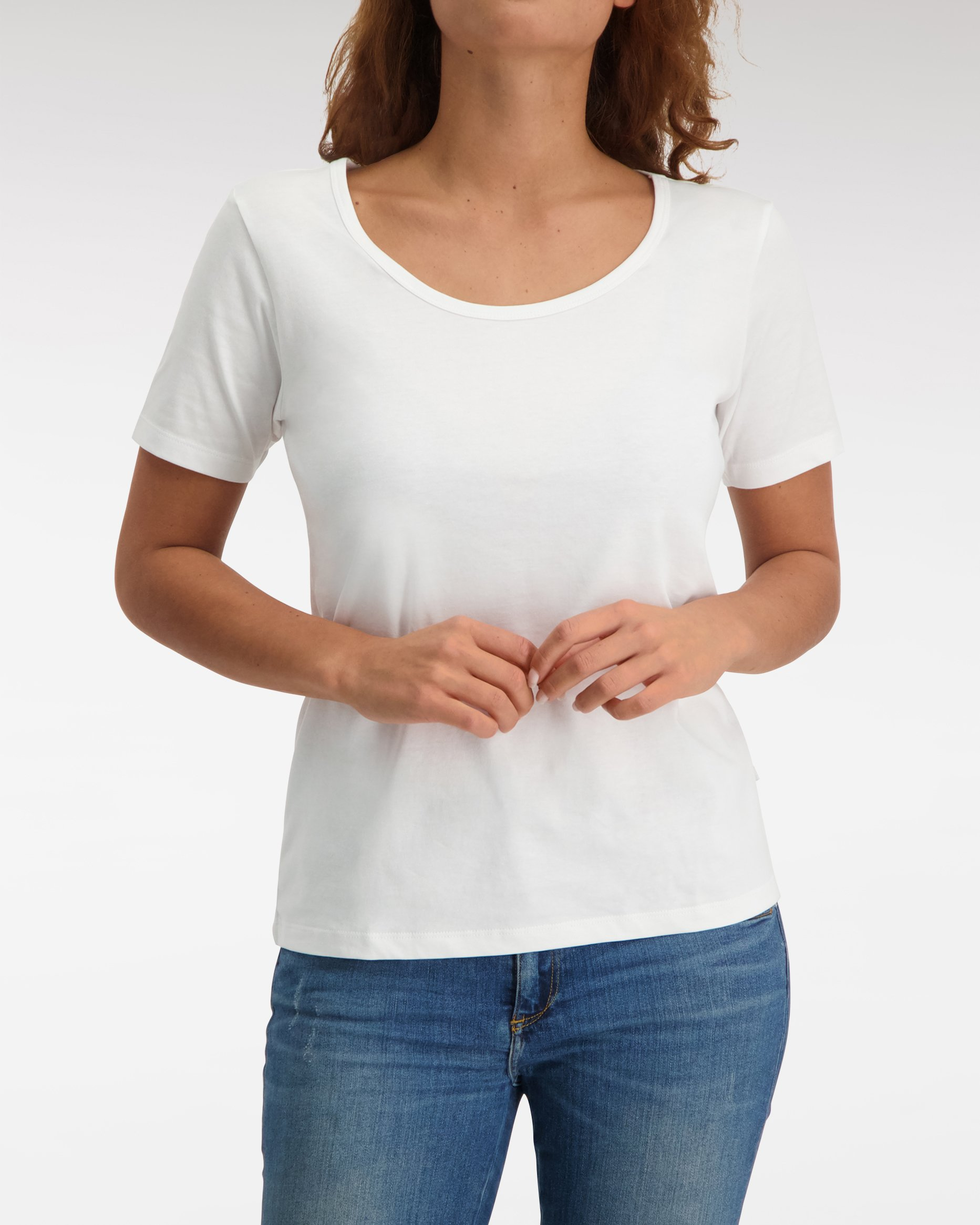Loose Fit R Neck T shirt SS