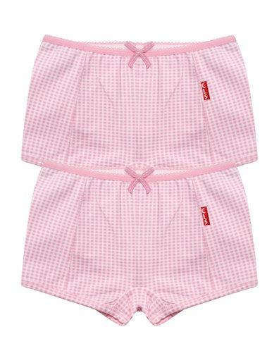 Boxershorts 2-pack Small Pink Checks