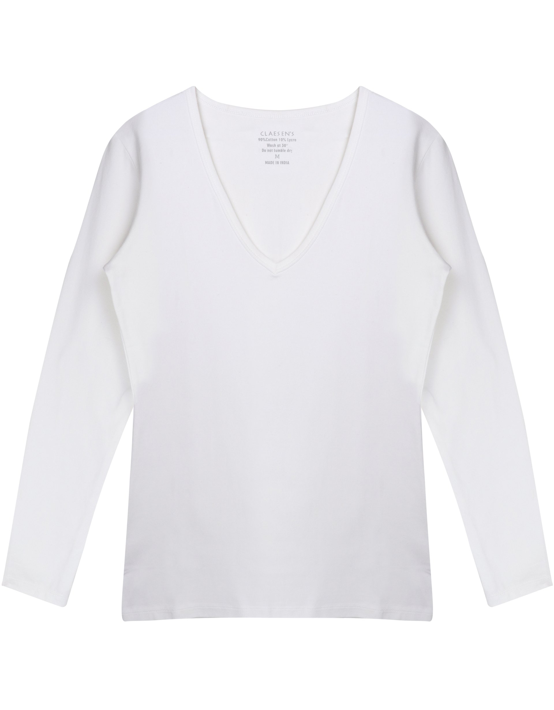 V-Neck T-Shirt LS