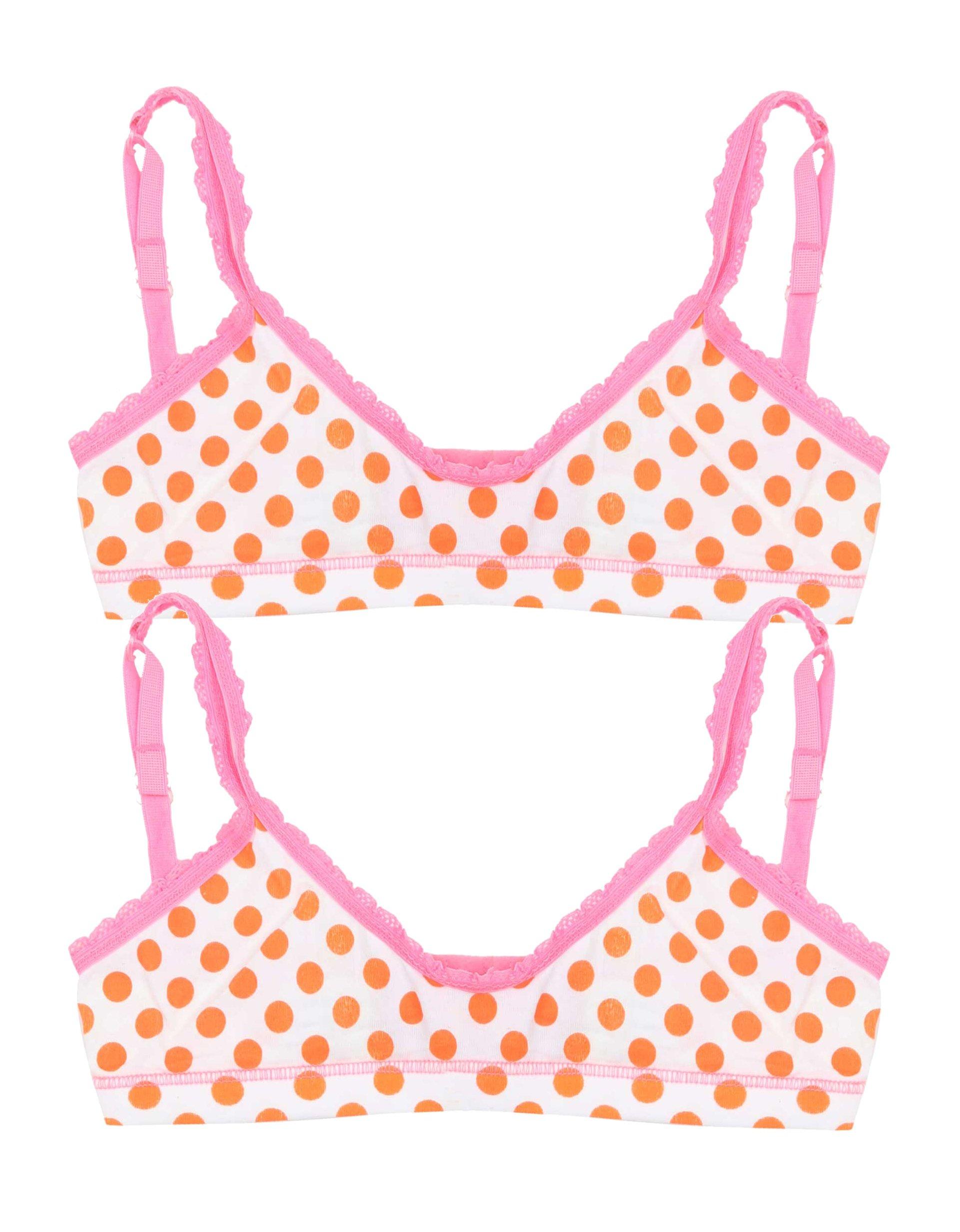 BH Top 2-pack Orange Dots