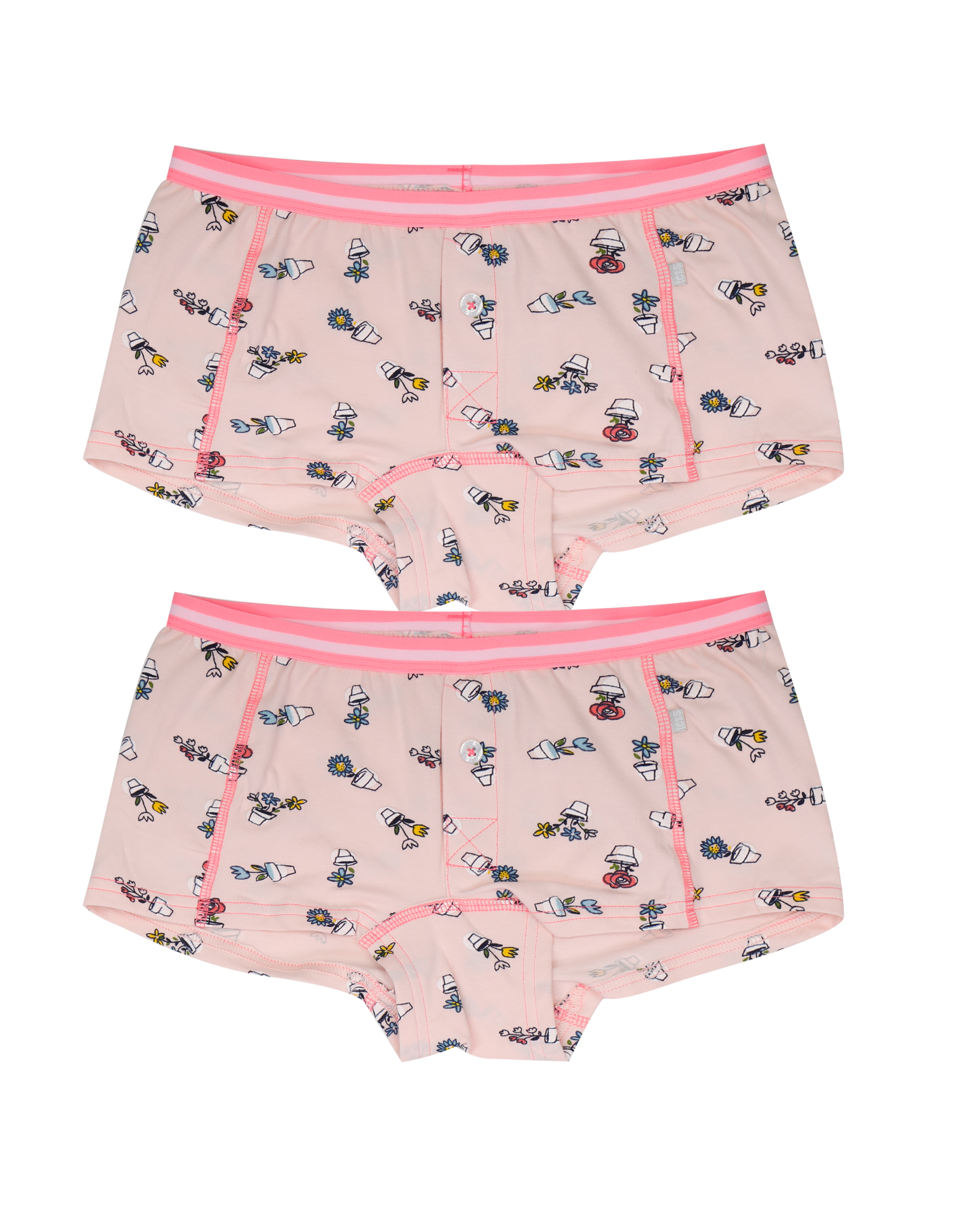Ladies 2 pack Boxer