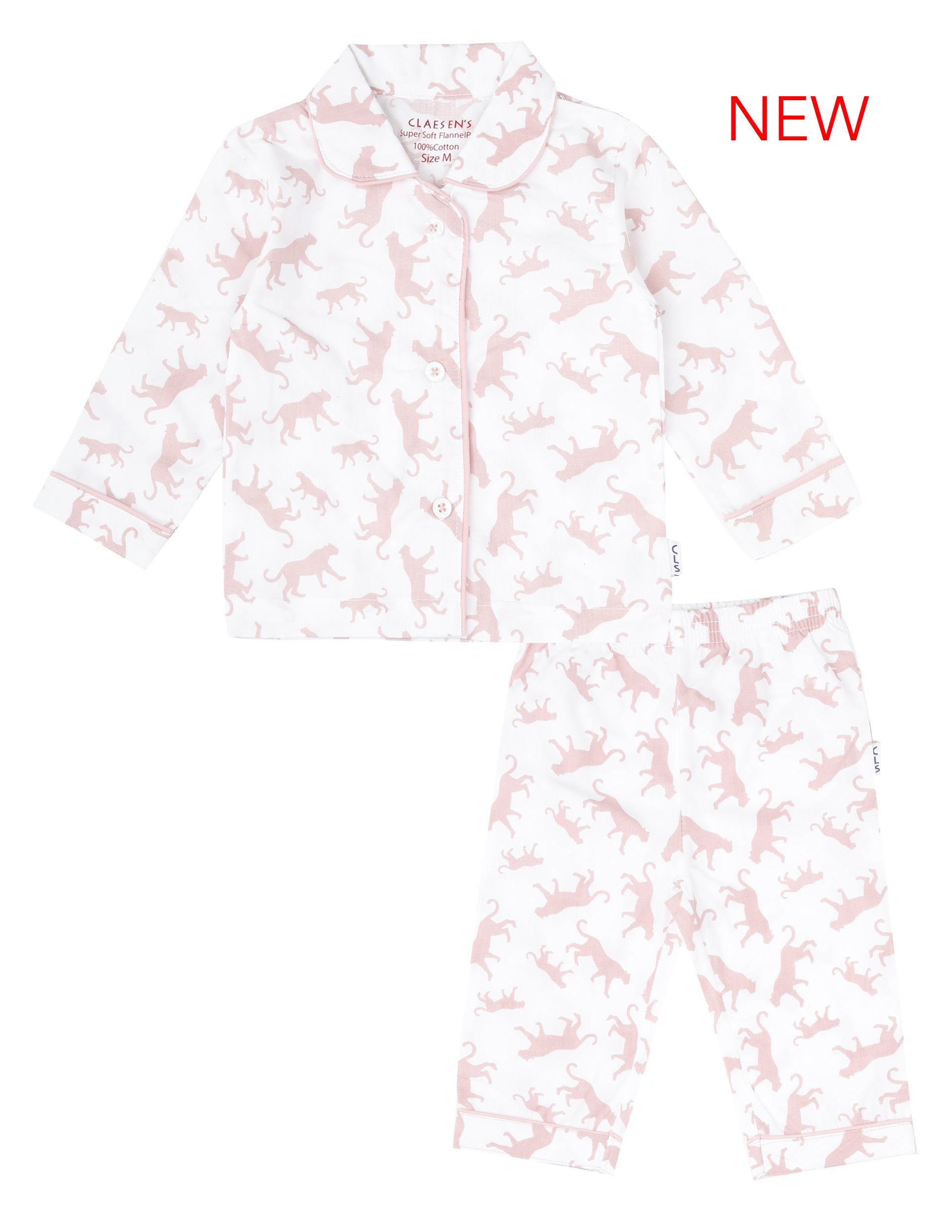 Baby Girls Soft Cotton Woven Pyjama