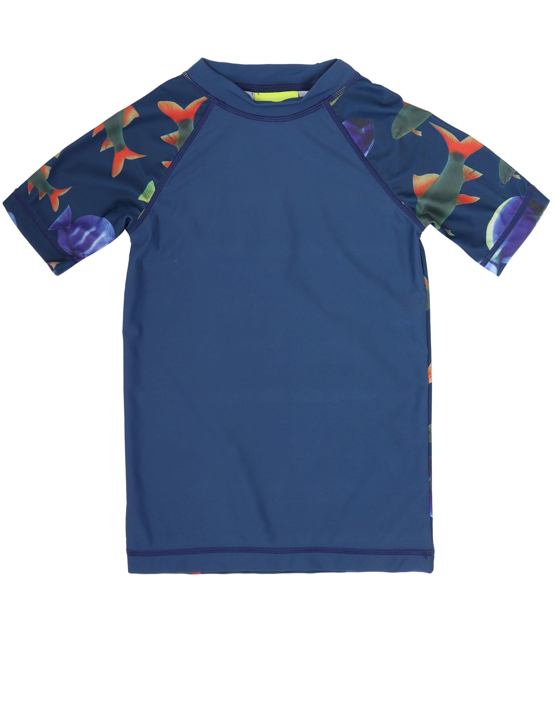 T Shirt UV Beschermend Fish