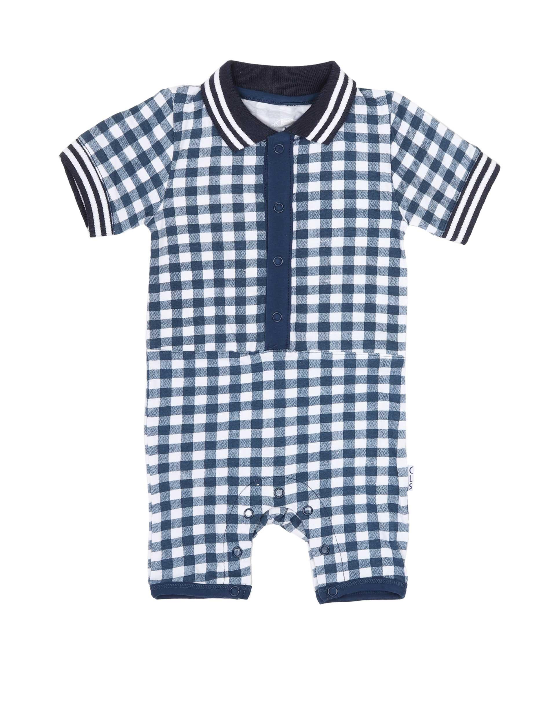 Babypak Navy Checks