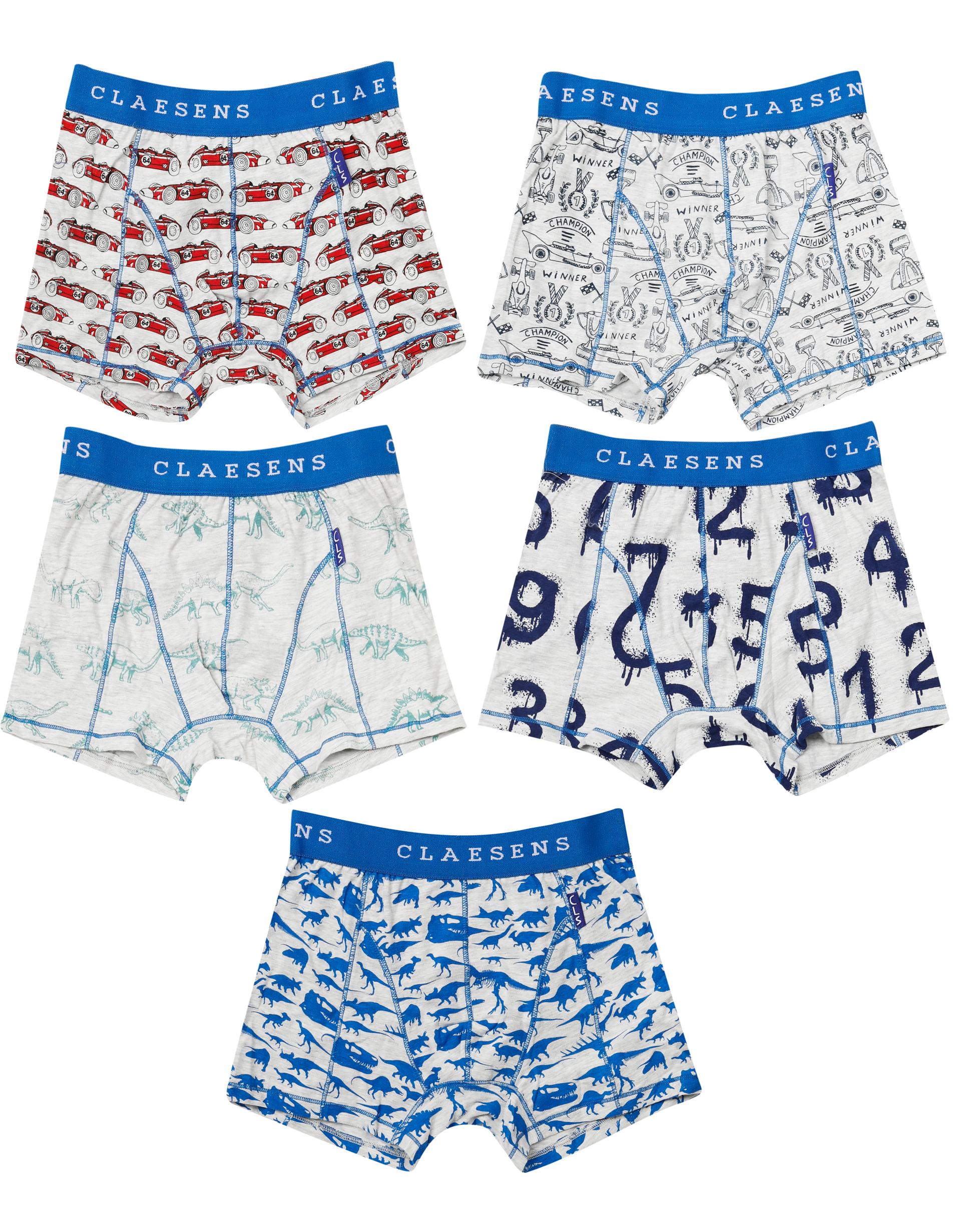 Boxershorts 5-pack Numbers