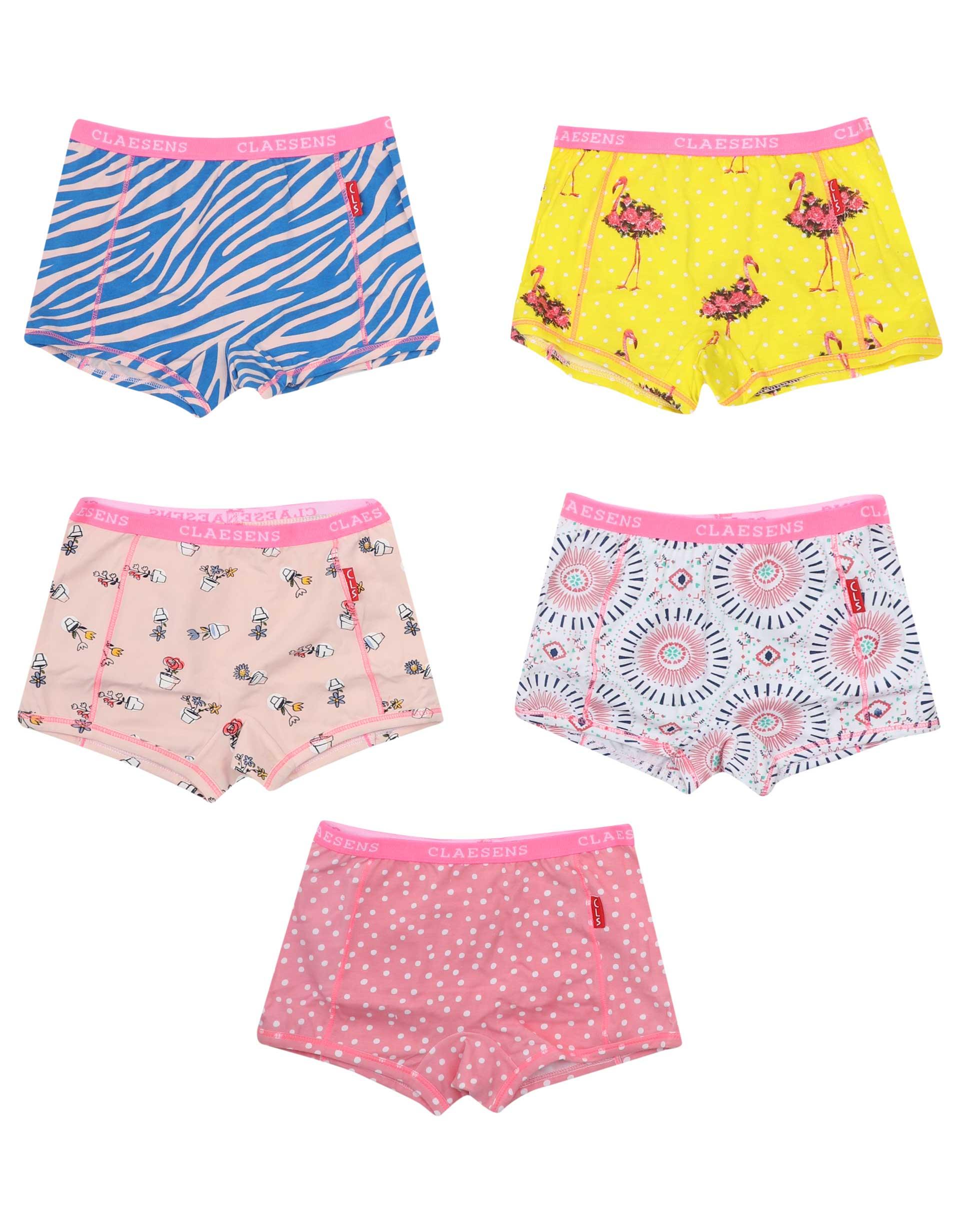 Boxershorts 5-pack Pink
