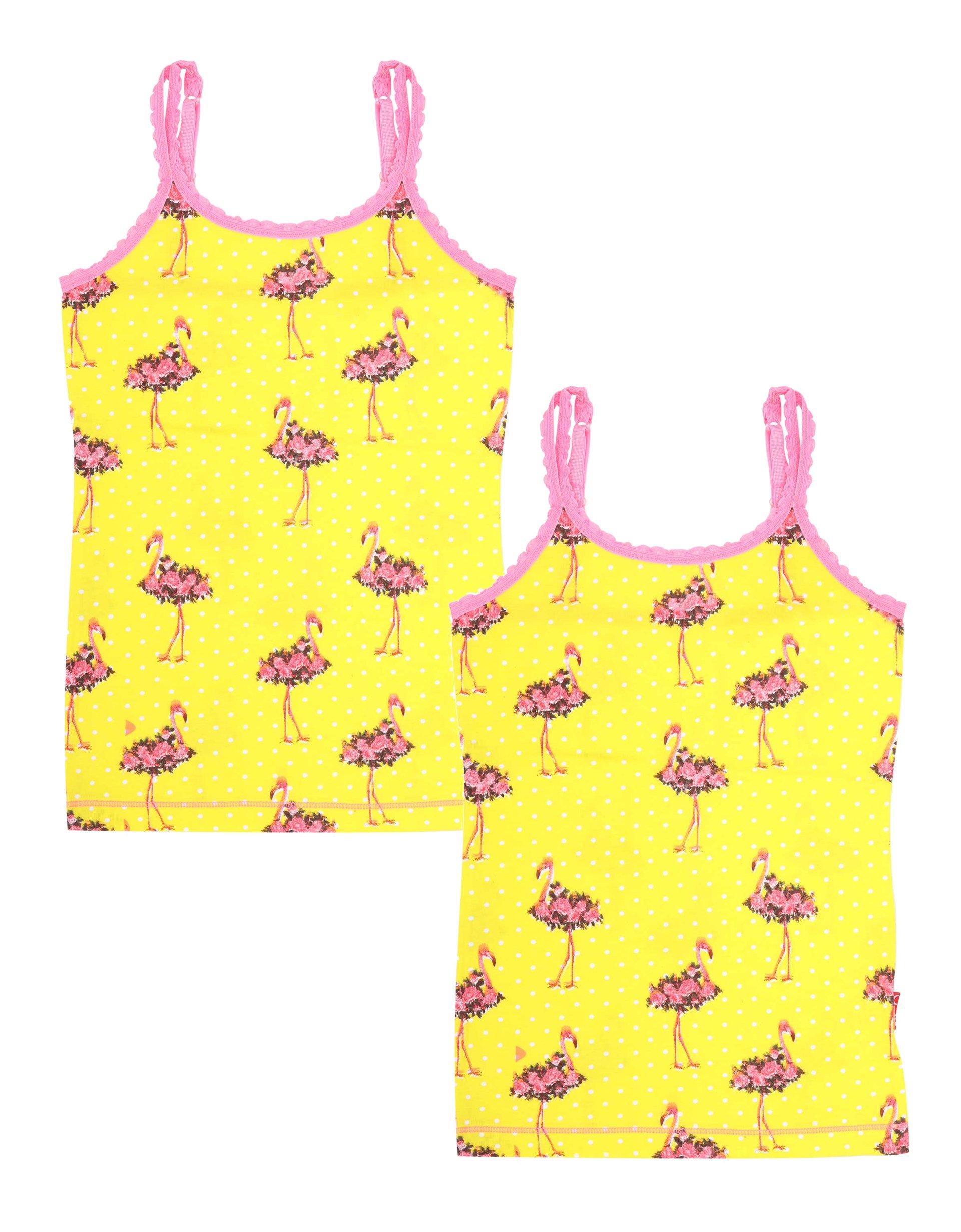 Singlet 2-pack Flamingo