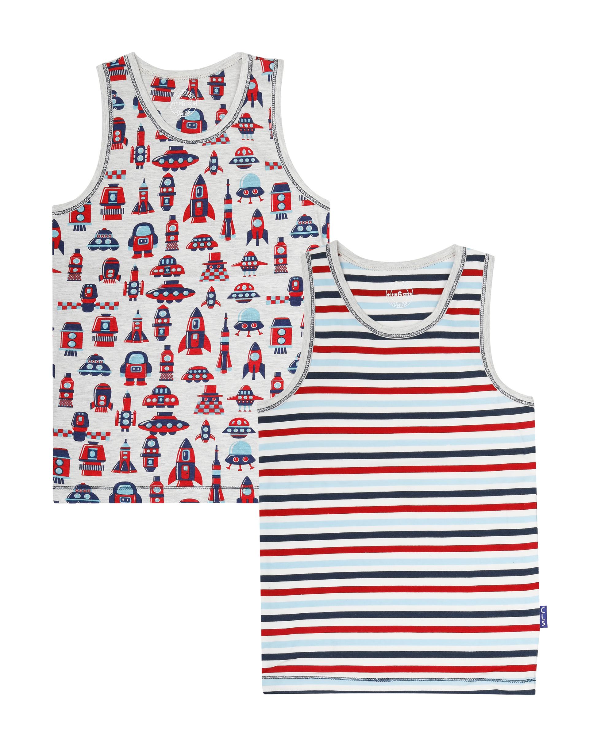 Hemd 2-pack Cosmic Stripes