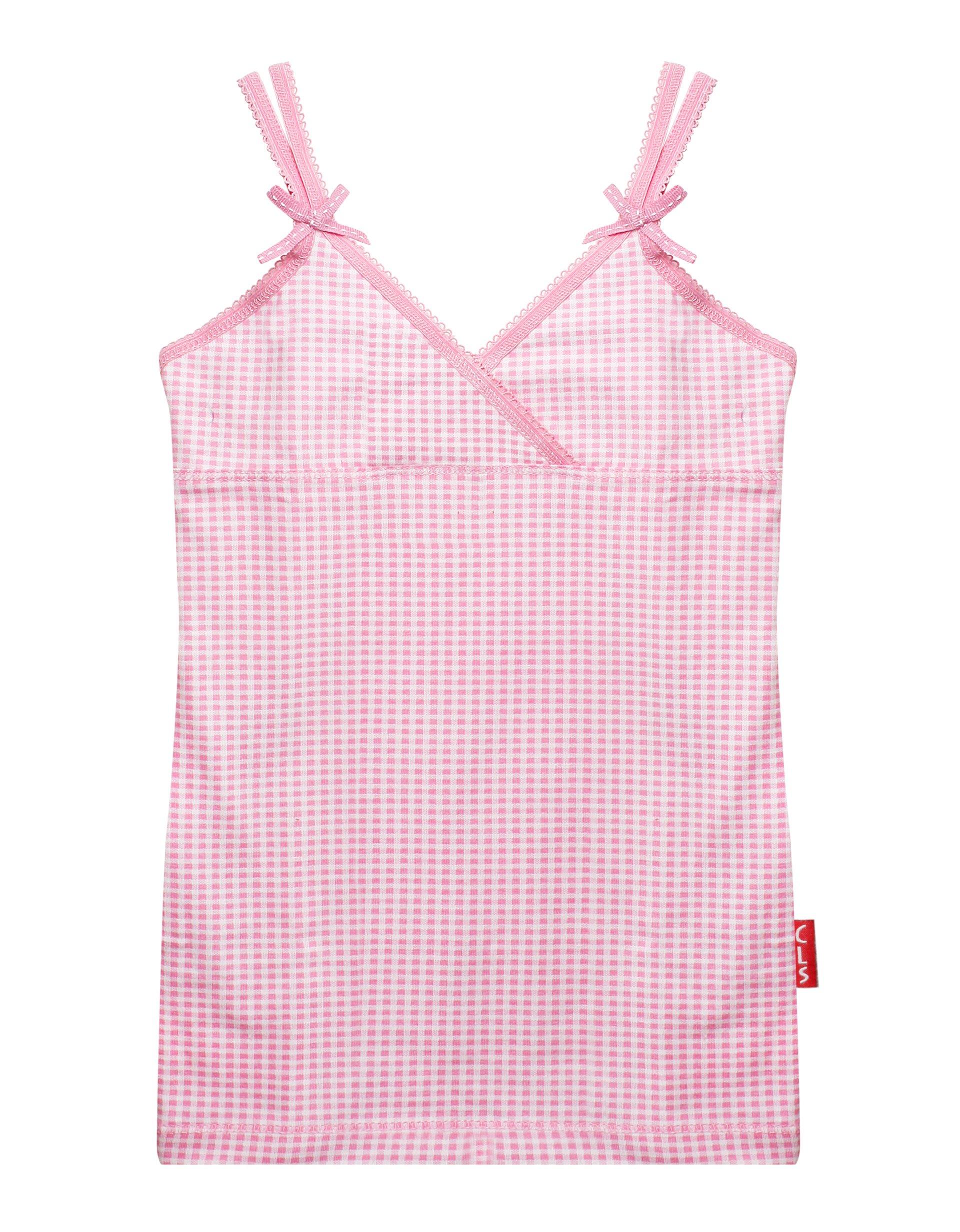 Singlet Small Pink Checks