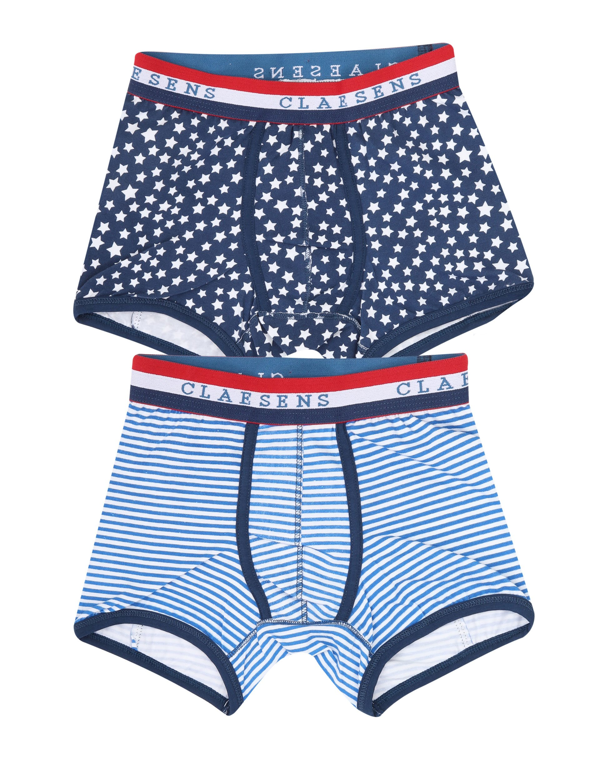 Boxershorts 2-pack Star Stripes