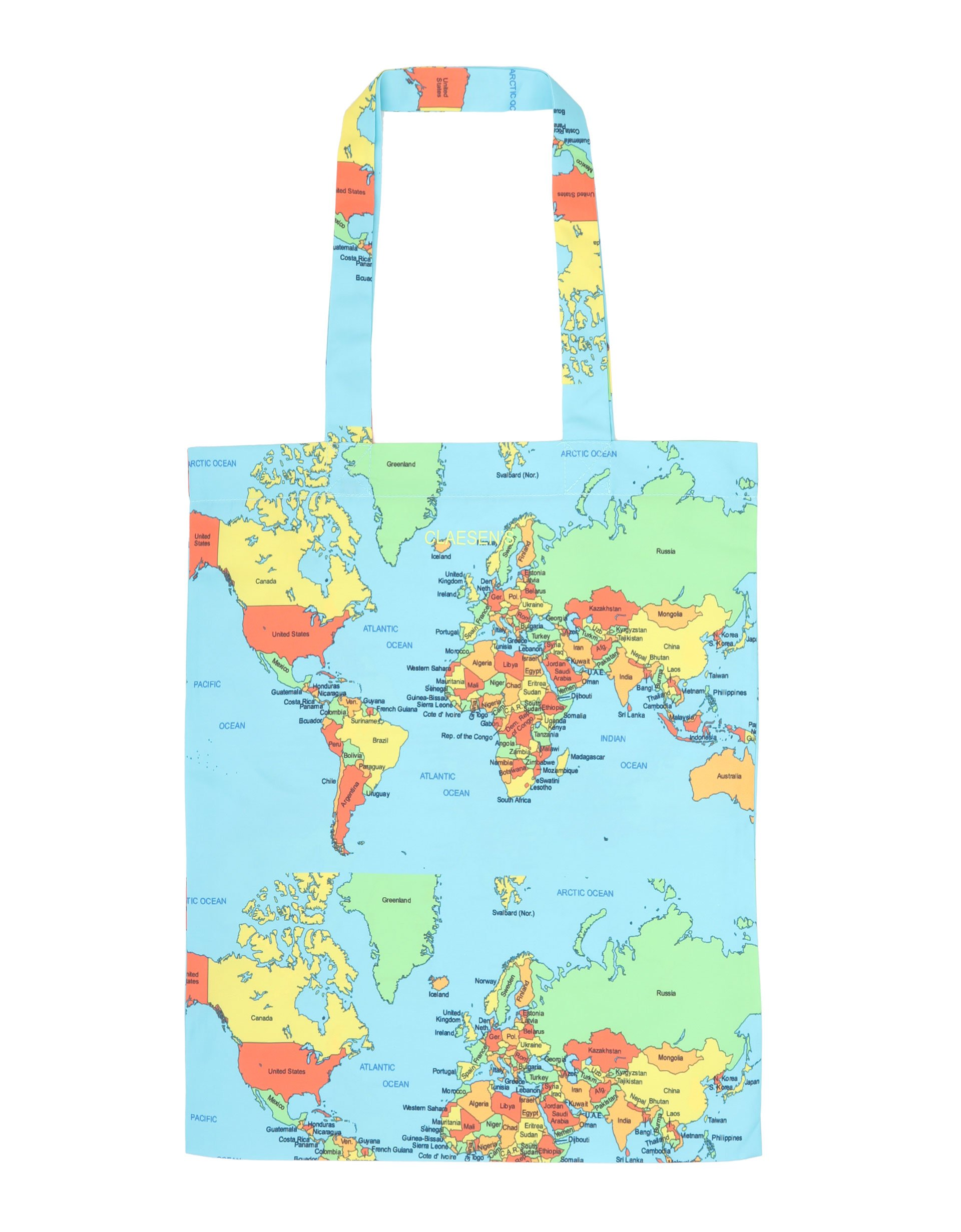 Tas World Map