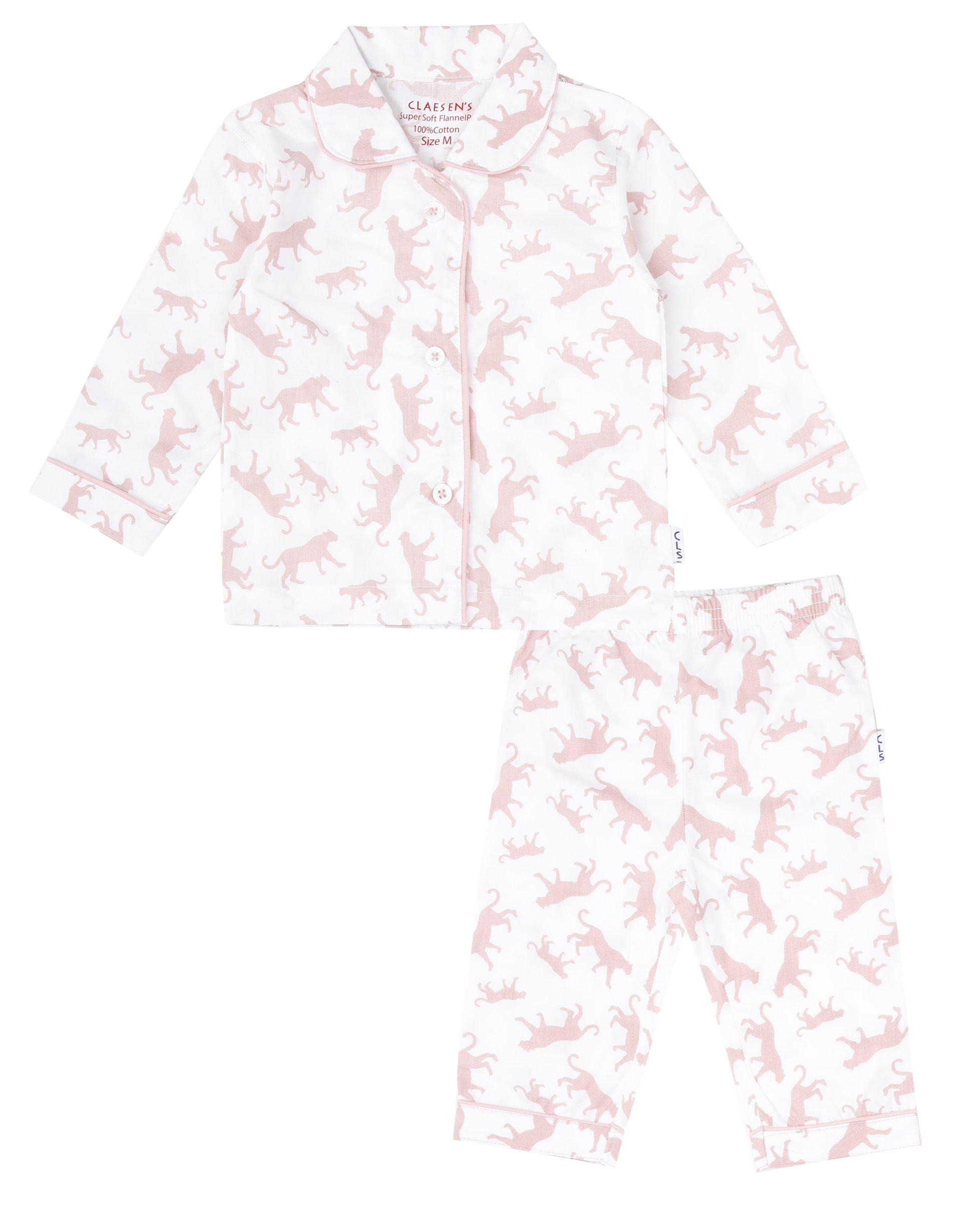 Baby Girls Soft Cotton Woven Pyjama