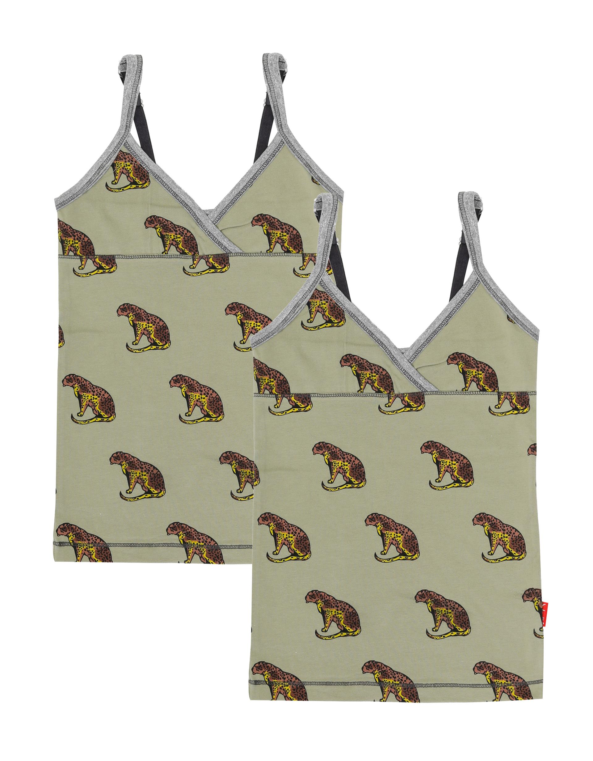 Singlet 2-pack Cheetah