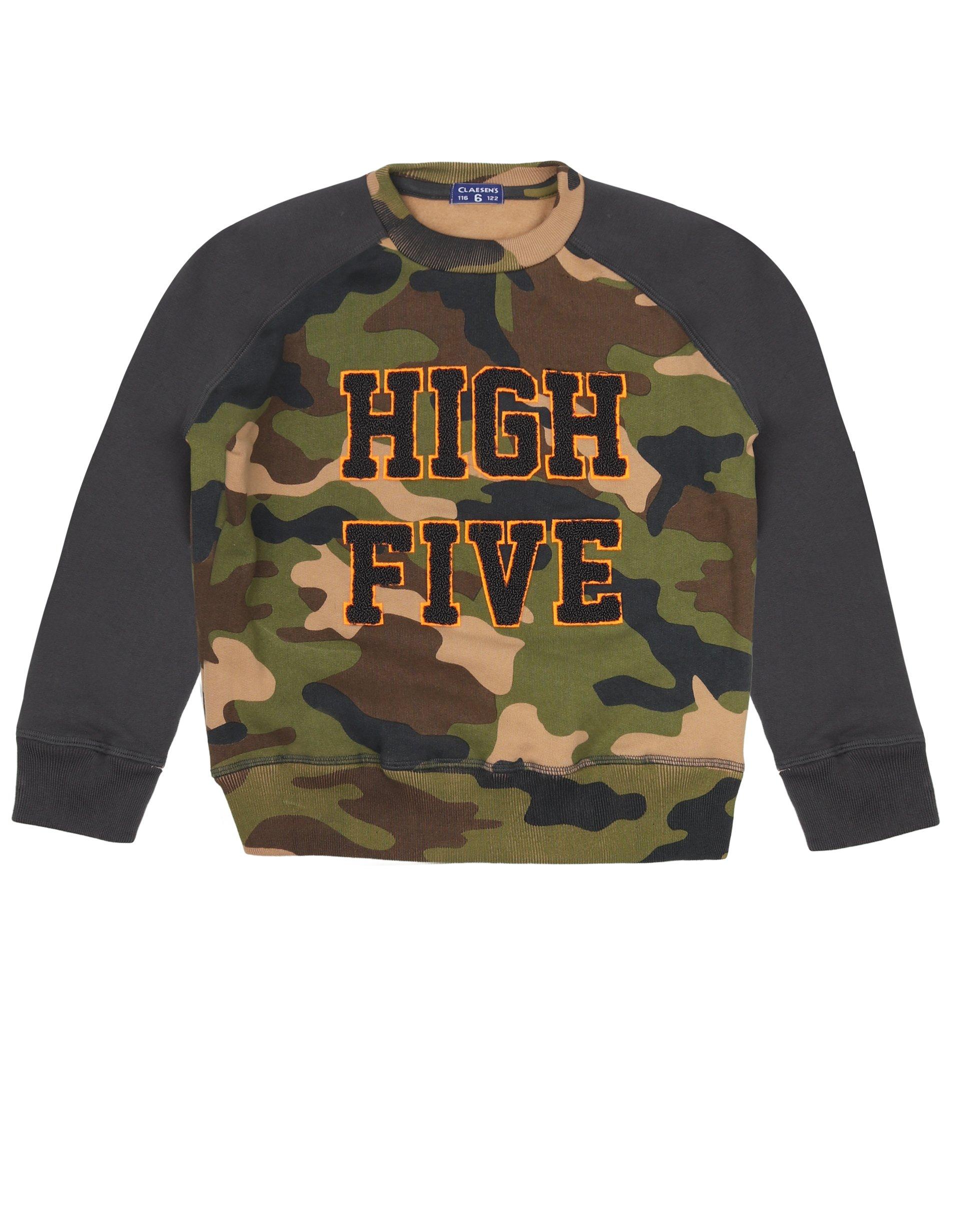 Boys Raglan Sweater