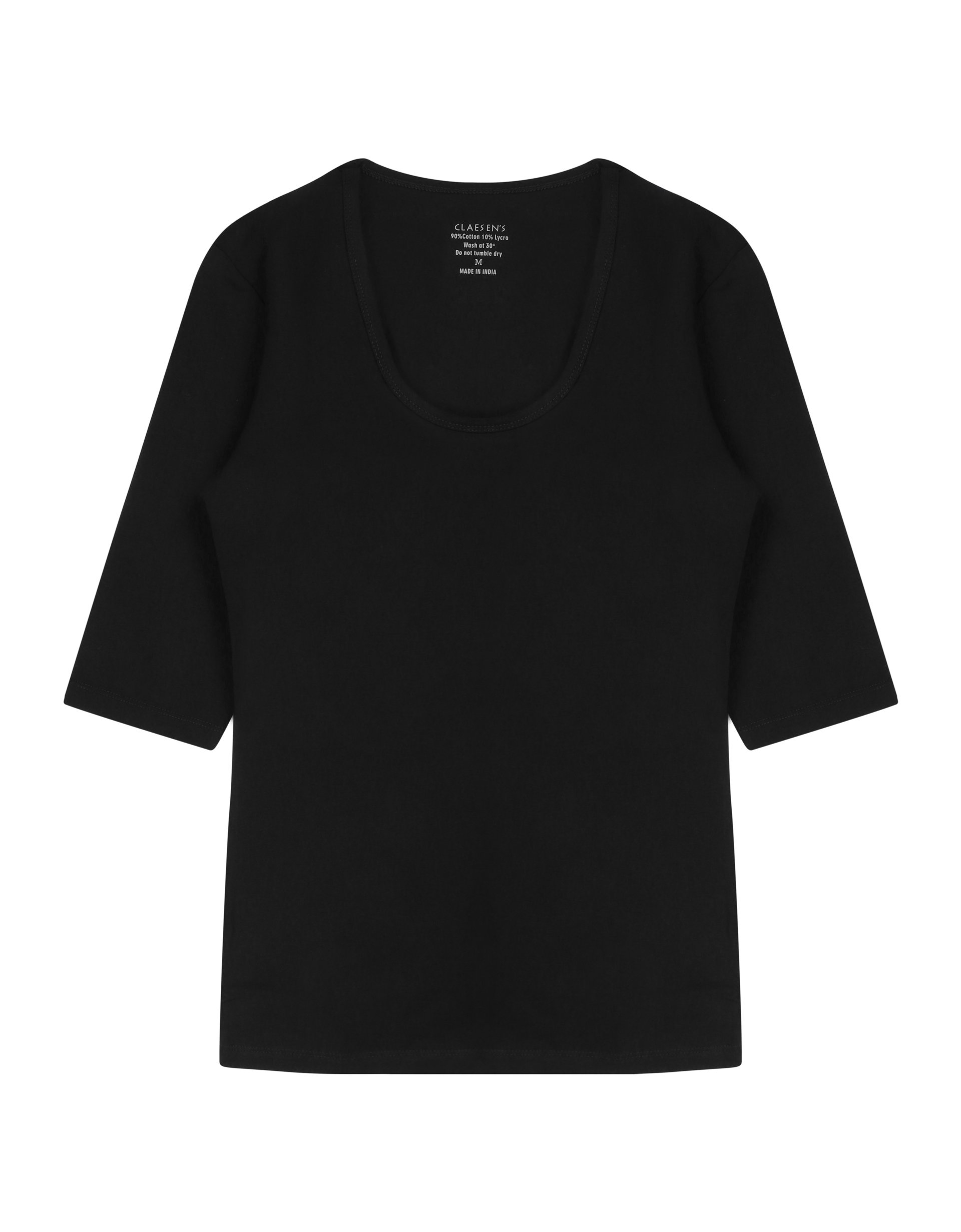 3/4 Sleeve R-Neck T-Shirt