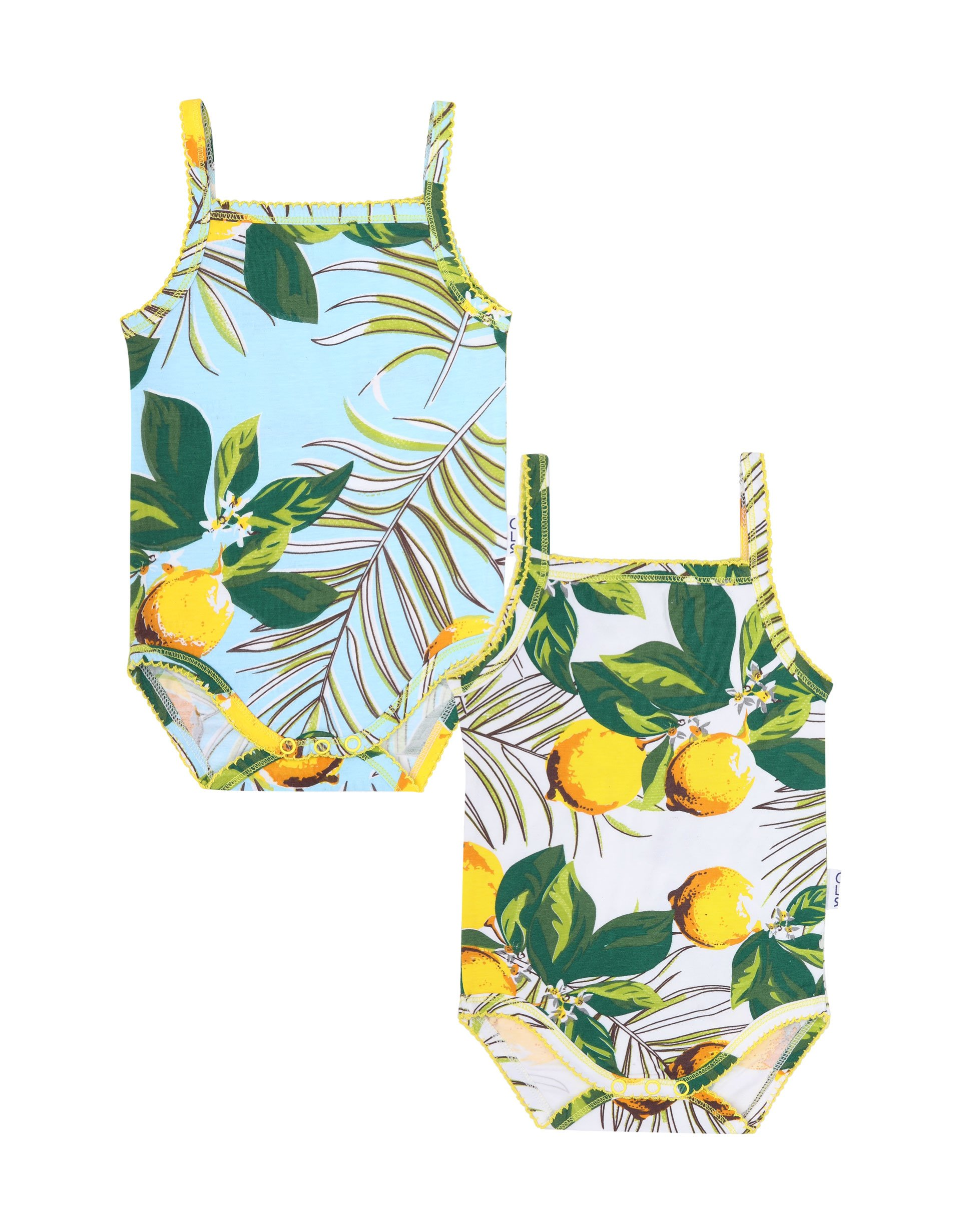 Romper 2-pack Lemon