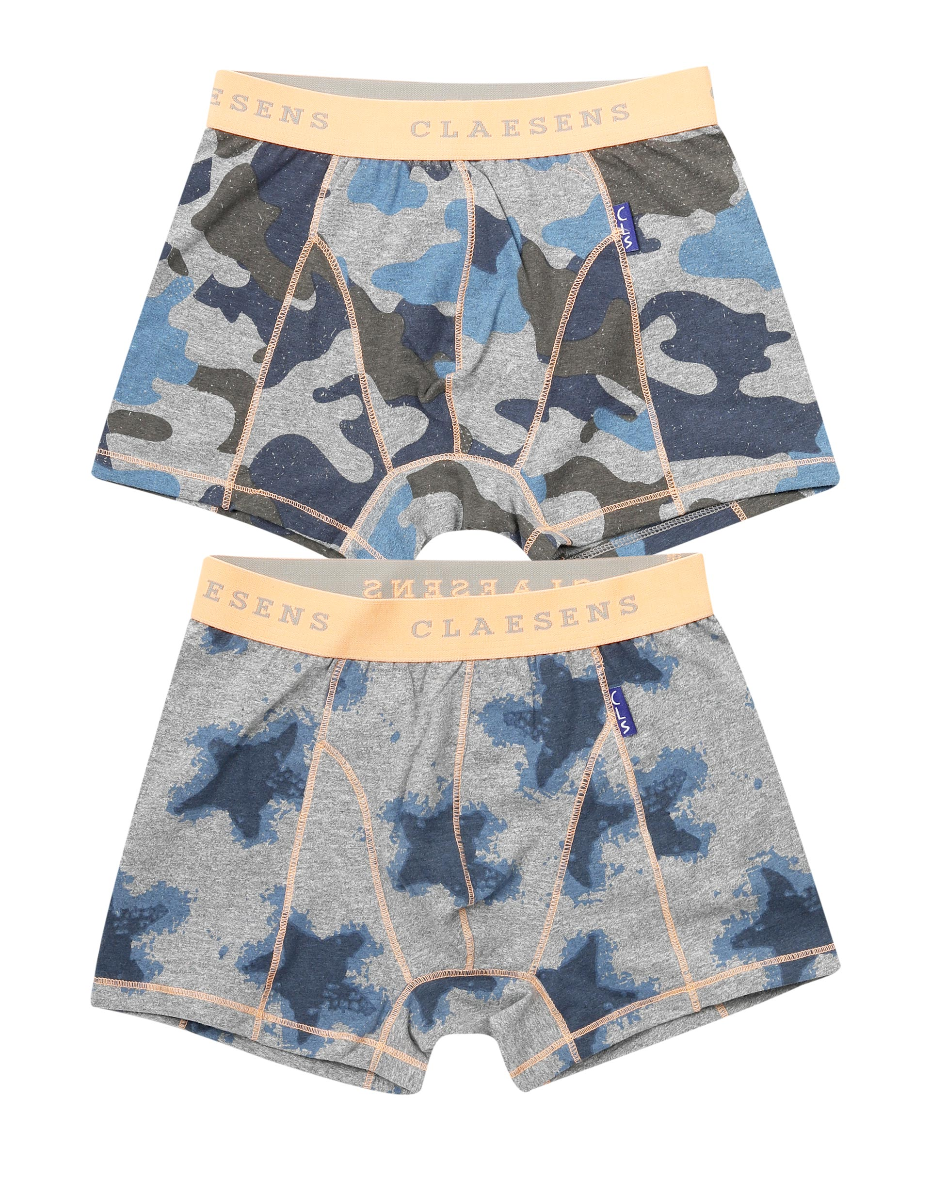Boxershorts 2-pack Army